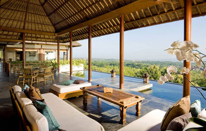 Villa Longhouse - Living Room View